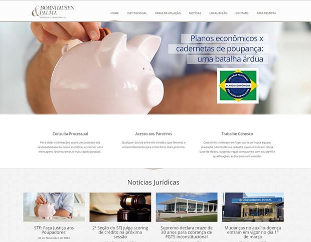 Website BP Advocacia