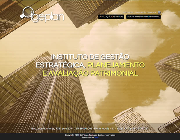 Website Instituto Igeplan